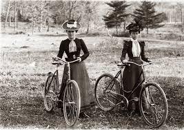 women and bikes