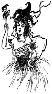 free vintage digital stamp_jester lady